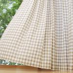 洋服やインテリアに人気☆リネン素材を使った『麻カーテン』のメリット・デメリット