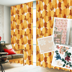 花柄カーテンを選ぶ3つのコツ/柄ものカーテンでおしゃれなお部屋を作る方法