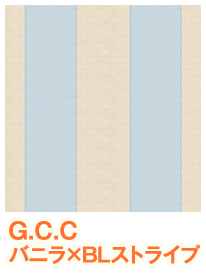 G.C.Cジェラートコットン ストライプ柄