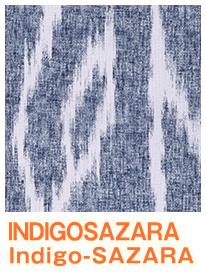 INDIGOSAZARA ネイビー